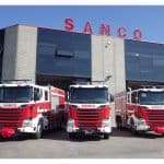 Fire trucks for OIL&GAS plant on SCANIA chassis