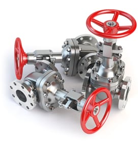 Gas pipeline valve