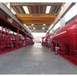 Series of low pressure CO2 systems (special insulated version)